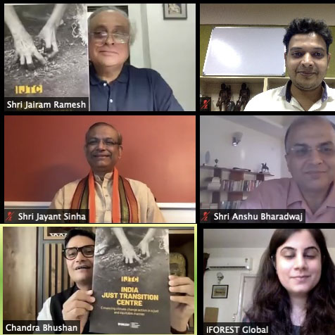 India Just Transition Centre (IJTC) Virtual Launch Event and Report Release
